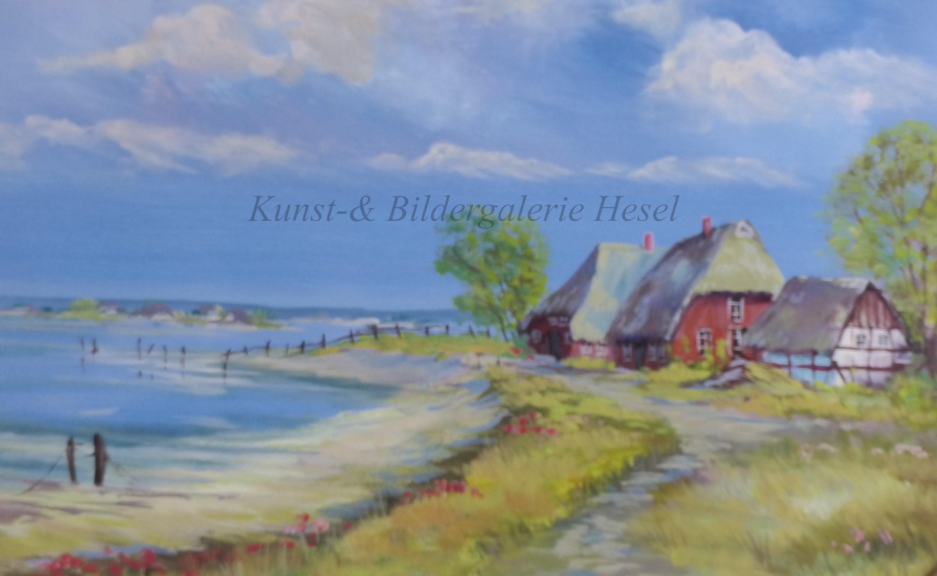 Norddeutsche Küstenlandschaften in der Kunst- und Bildergalerie Hesel