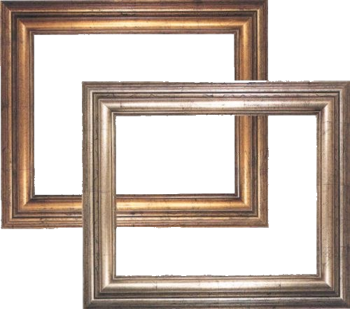 Bilderrahmen in der Kunst- und Bildergalerie Hesel. Ca. 800 Muster vorrätig