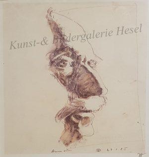 Horst Janssen Portrait